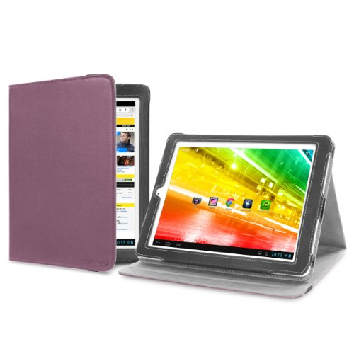 Cover-Up Archos 97 Platinum HD (9.7-inch) Tablet Version Stand Cover Case - Purple