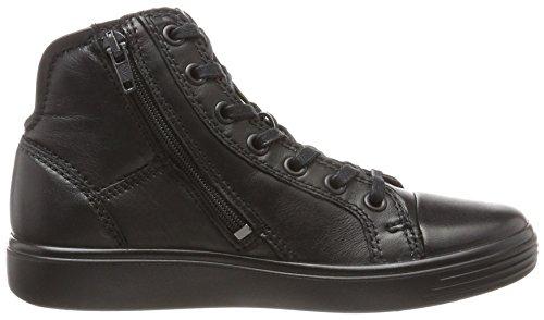 ECCO S7 Teen, Zapatillas Altas Unisex Niños Negro (Black/black)