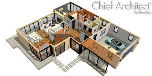Chief architect home designer suite 2018 dvd key card ebay for Virtual architect ultimate home design