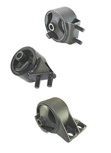 Mac Auto Parts 38954 Mazda 323 1.6L 1.8L M/T Engine and Transmission Mounts 3pc (Mazda 323 Engine Mount)