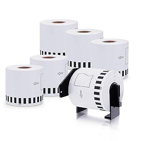 Amazon.com: Brother DK-2205 - Rollos de etiquetas: Office ...