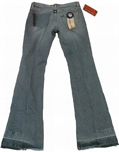 Destruido Flare Star Pant Funda Rock Post Jeans Denim Manguera Look It Mujer Azul Fornarina Bootcut Zq6v7v