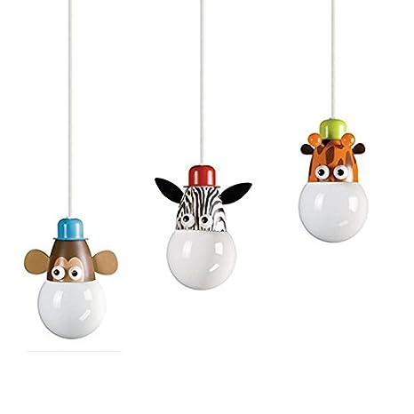 Cartoon Animales habitación de un niño lámpara de techo ...