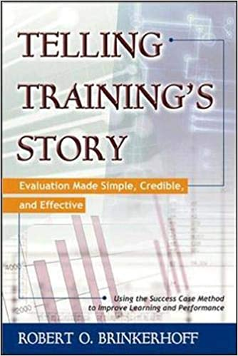 book cover of Telling Training's Story: Evaluation Made Simple, Credible, and Effective by Robert O. Brinkerhoff
