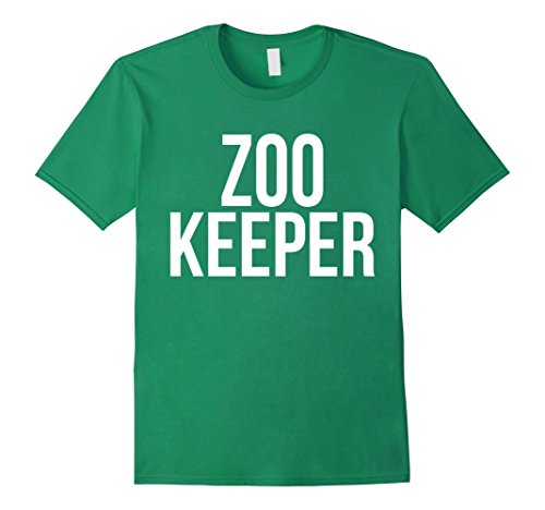 Mens Awesome Zookeeper T-shirt Best Zookeeper Costume Ever Large Kelly (Zoo Keeper Costume Men)