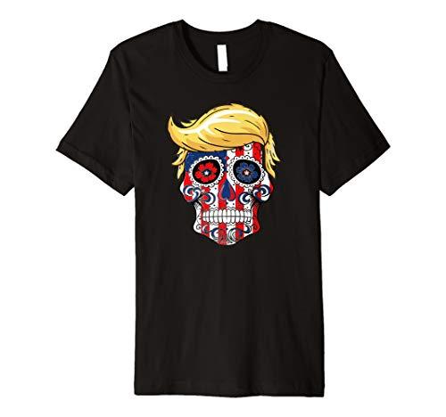 Trump sugar skull -