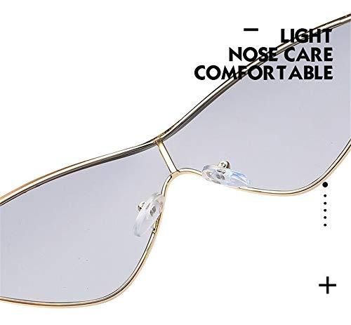 Lente Vintage Espejo Mujer Fliegend Súper Gafas Sol Ligero Retro Polarizadas de Gafas Sol Hombre Eye para UV400 Cat Gris Unisex Gafas de UPTwqUf
