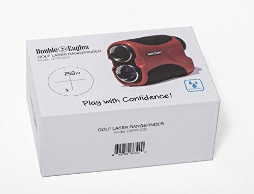Kozyvacu Double Eagles Depro-600 Golf Laser Range Finder With Pin Sensor, Laser Binoculars, Free Battery, Water Proof by Kozyvacu (Image #5)
