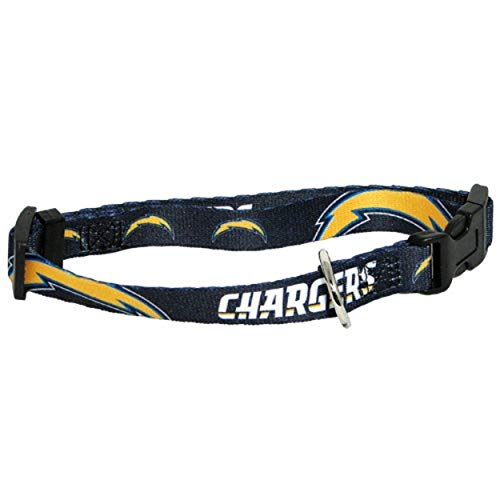 Hunter MFG San Diego Chargers Dog Collar, Extra Small