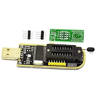 HiLetgo USB Programmer CH341A Series Burner Chip 24 EEPROM BIOS