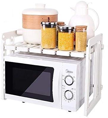 Juego de cocina para microondas Estante para horno de 2 capas ...