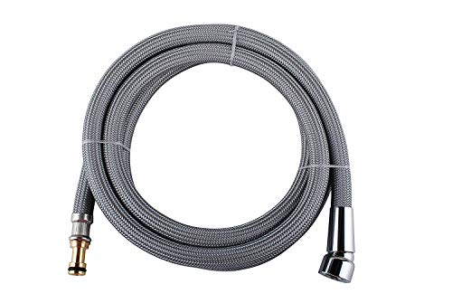 Wadoy 150259 Hose Kit for Moen Pulldown Kitchen Faucets Sink Plumb Bathroom Fixture - with the hose part number #187108 (Pull Kit Down Faucet)
