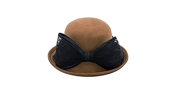 7239280314c85 Sombreros de la señora del Versión Coreana  cúpula  Sombrero de ala Ancha  Rollo-A Ajustable  Amazon.es  Ropa y accesorios