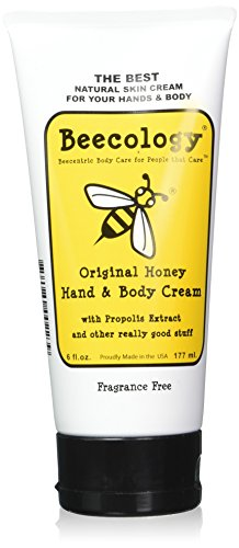 Beessential Original Fragrance Free Cream, Honey, 6 Ounce