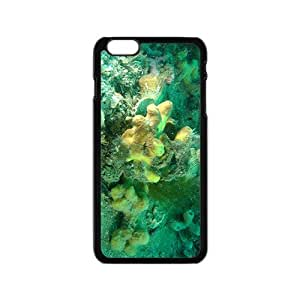 The Green Coral Reef Hight Quality Plastic Case for Iphone 6
