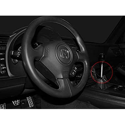 "BlackPath - Fits Honda + Acura 3"" Shifter Extender 10mm x 1.5 Threads Manual Transmission (Silver) T6 Billet: Automotive"