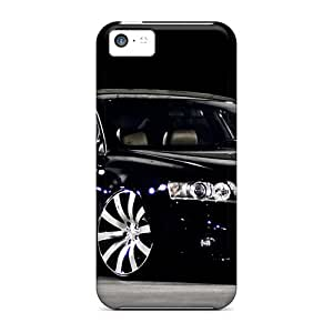 Pauleasy Fashion Protective Dark Wing Cases Covers For Iphone 5c