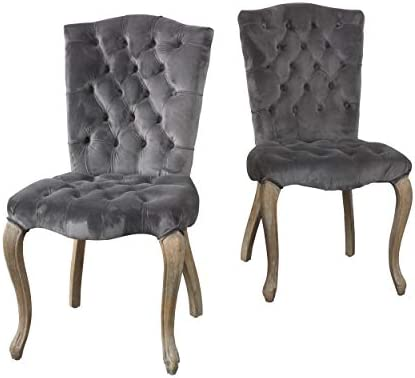 Christopher Knight Home Moira Velvet Dining Chair