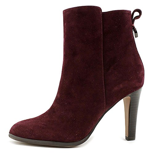 Kid Warm Coach Oxblood Ankle Jemma Suede Suede Toe Boot Round qw8qYT