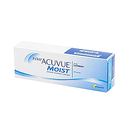 e6bfcee2c79 Buy Acuvue 1 Day Moist Daily Contact Lens - 30 Pieces (-0.75) Online at Low  Prices in India - Amazon.in