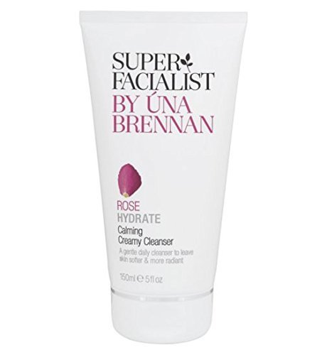 Super Facialist Rose Hydrate Calming Creamy Cleanser 150ml by Una Brennan (Super Facialist By Una Brennan Rose Hydrate)