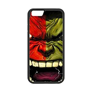 Screaming Hulk iPhone 6 Plus 5.5 Inch Cell Phone Case Black DIY TOY xxy002_925970
