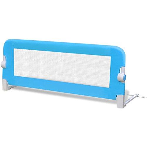 vidaXL Barandilla Seguridad de Cama Ninos 102x42 cm Barrera Proteccion Dormir