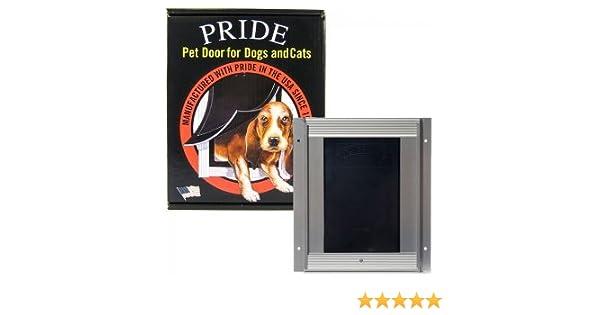 Amazon Deluxe Pet Door Large 11 5 W X 16 9 H Opening Pride