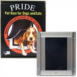 Pride Anodized Silver Pet Door XLarge XLD600 by Pride Deluxe by Pride Deluxe