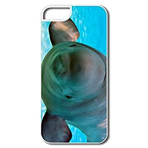 IPhone 5/5S Cover, Baby Beluga White Covers For IPhone 5
