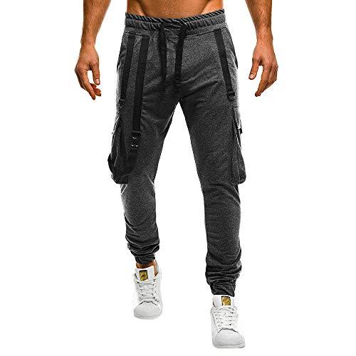 Taschino Pantalone Lasciami Da Yunyoud Uomo E Scuro Inverno Lavoro Pantaloni Più Grigio Camicetta Autunno Casual Sportivo n7q8RP