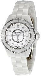 Chanel Women's H2570 J12 Diamond Dial Watch