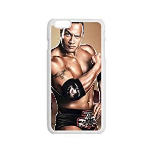 NICKER WWE World Wrestling The Rock White Phone Case for Iphone6