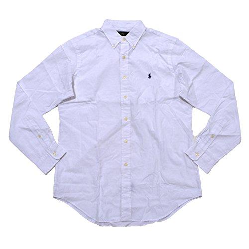 polo-ralph-lauren-mens-solid-poplin-sport-shirt-xl-white