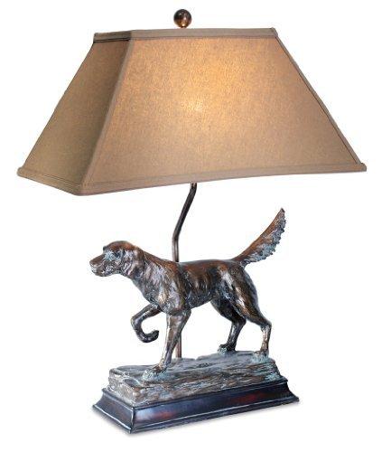 HUNTING DOG LAMP 28