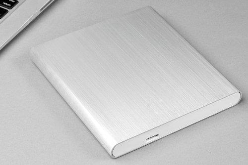 Archgon Premium Aluminum External USB 3.0 UHD 4K Blu-Ray Writer Super Drive for Apple--MacBook Air, Pro, iMac