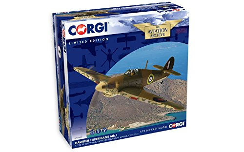- Corgi Boys Hawker Hurricane Diecast Military Aviation