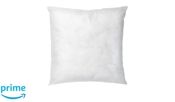 IKEA INTERIOR - pad Cojín, blanco - 50x50 cm: Amazon.es: Hogar