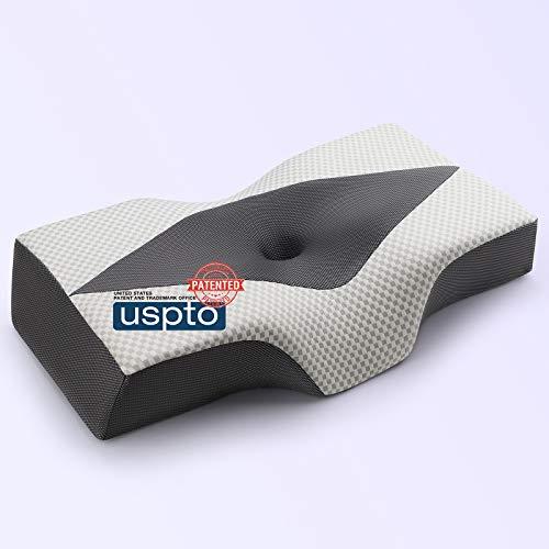 20% off an ergonomic orthopedic side sleeper pillow