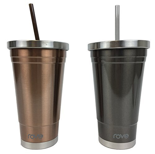 Rove Stainless Steel Double Wall Insulated Vacuum Tumblers 2