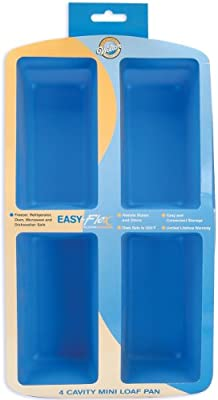 Wilton Easy Flex Silicone Four Cavity Mini Loaf Pan