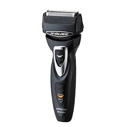 S-Blade Men's Shaver RM-T398-B that HITACHI - washable with comb attachment and multi-stage adjustment trimmer (Beard Trimmer Japan)