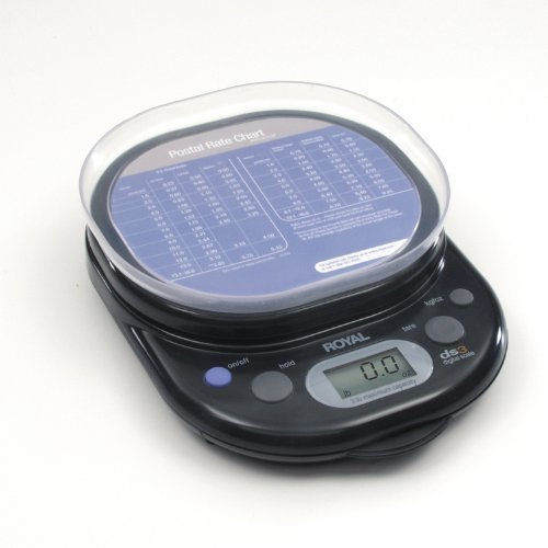 Royal DS3 Digital Warehouse Postal Scale from ABC Office by Royal (Royal Digital Scale Postal)