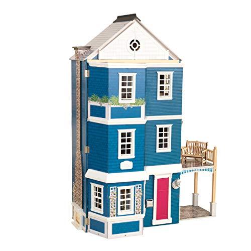 41RUbqDUA9L - KidKraft So Chic Dollhouse with Furniture