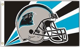 NFL Carolina Panthers - Logo 3'X5' Flag