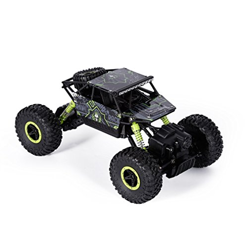 RC Rock Crawler, YKS Remote Control Car Toys High Speed Racing Cars Off-Road Vehicle Electric Monster Truck with 2.4 GHz Control System 4WD 1:18 Size Reviews