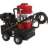 NorthStar Gas-Powered Wet Steam & Hot Water Pressure Washer - 2,700 PSI, 2.5 GPM