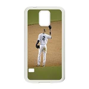 Samsung Galaxy S5 Cell Phone Case White Derek Jeter No Last Game Sports JSK651570