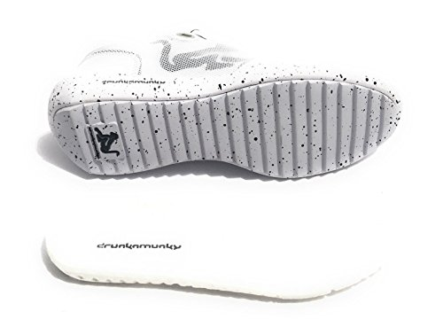 DrunknMunky Tenis New Adulto Phoenix Bianco Zapatillas Evolution de Unisex qXB1vqrx