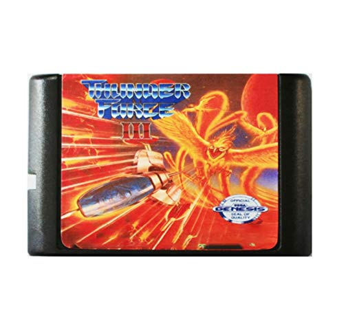 Taka Co 16 Bit Sega MD Game Thunder Force 3 - 16 bit MD Games Cartridge For MegaDrive Genesis console